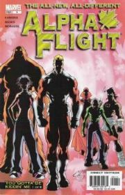 Alpha Flight Comics (2004 Series)